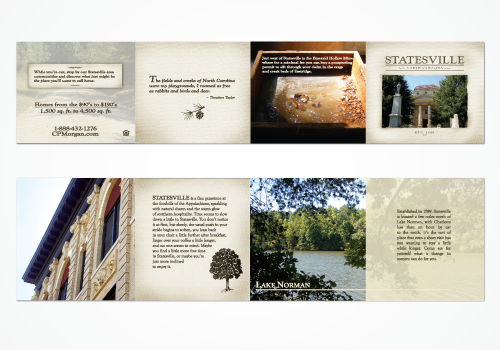 C.P. Morgan | Accordian Brochure